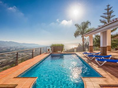 Photo for Villa Alcahuey - This villa has a private pool with panoramic views & WI-FI