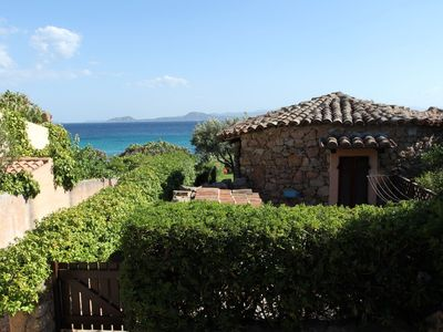 Photo for cod. 110 GOLFO ARANCI FANTASTIC VILLA ON THE SEA