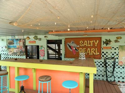 Photo for Stilt Home with Tiki-Bar! Close to Beach and Times Square