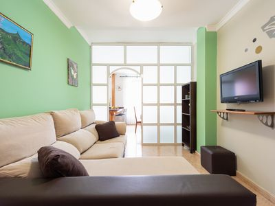 Photo for Bright and spacious flat near Las Canteras Beach