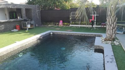 Photo for Villa for 8 people with swimming pool near Montpellier and 10 minutes from the sea