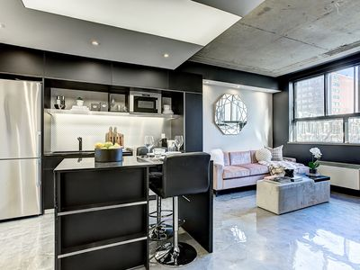 Photo for Stylish apartment close to the commercial  Saint-Catherine Street