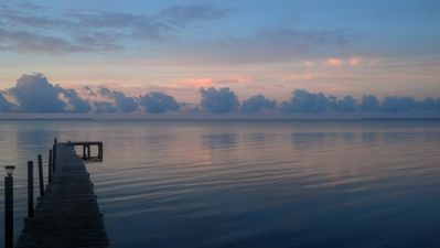 Sunrises this beautiful beckon you to join the quiet celebration from your dock.