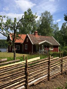 Photo for Cottage by the lake by boat. Close to Astrid Lindgren's World