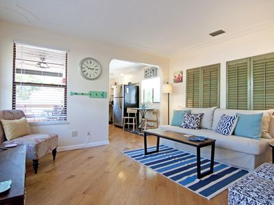 Photo for Charming Downtown Bungalow Near The Beach
