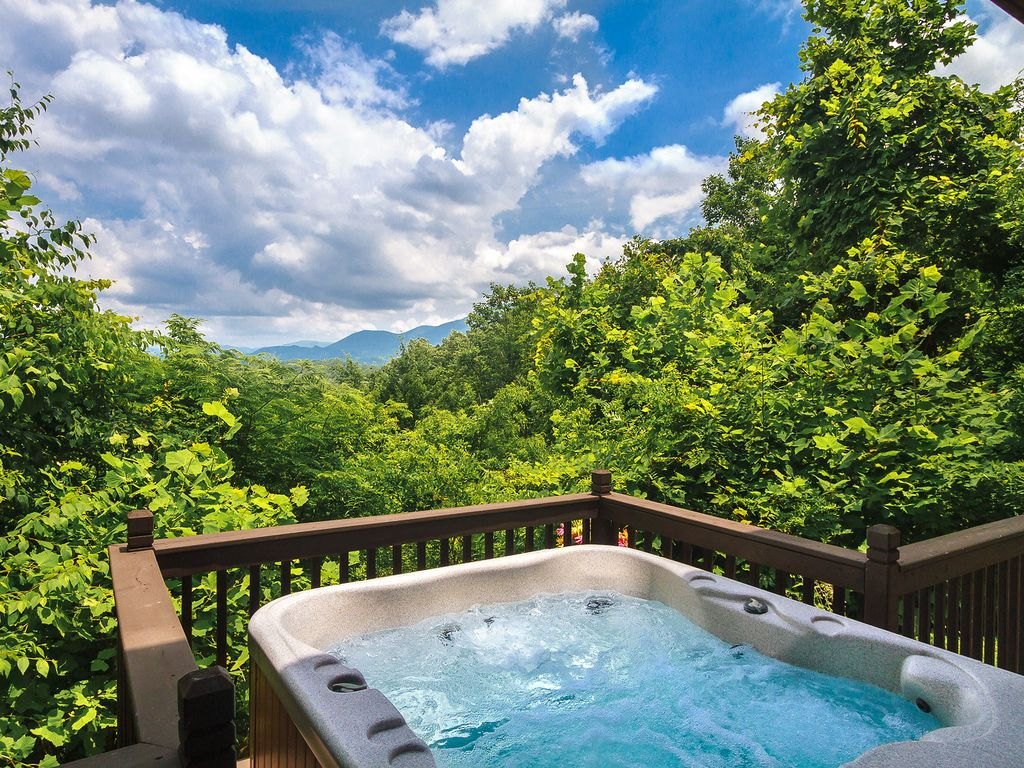 a romantic secluded cabin with mountain vie vrbo