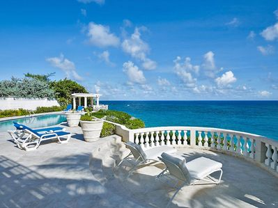 enjoy unrivaled views of the turquoise ocean