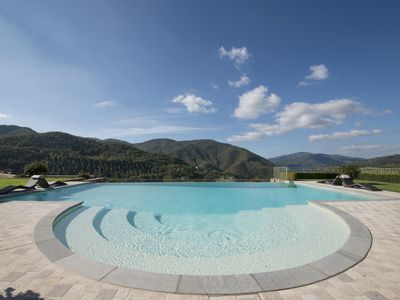 Photo for Luxury villa in Tuscany with private pool, Chianti Rufina (Florence)