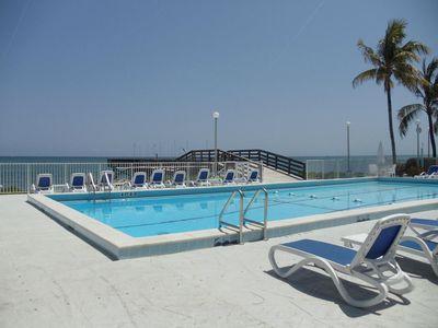 Photo for Beautiful Updated 2 Bedroom Oceanside Condo In Key Colony Beach Florida!