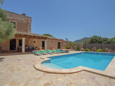 Photo for Large old finca with private pool near the historic village of Felanitx