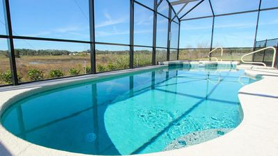 Photo for SOLTERRA RESORT- 6BEDROOM HOME WITH AMAZING POOL, WATERSLIDES, LAZY RIVER & MORE