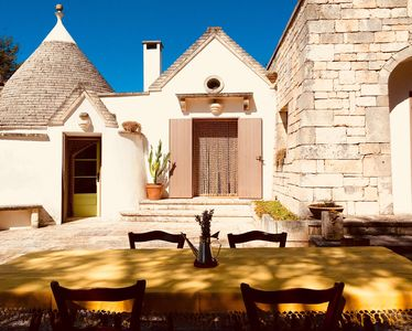 Photo for Trulli d'Itria B & B, relax and tradition (Private SPA)