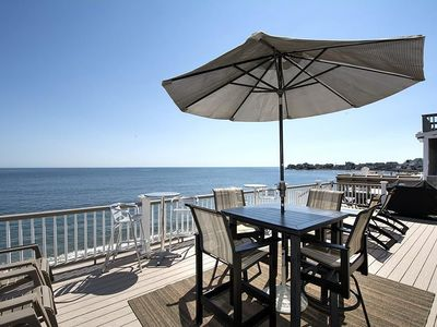 Photo for 5 BR / 2 Bath beach house. Beachfront. Walking distance to Scituate Harbor!