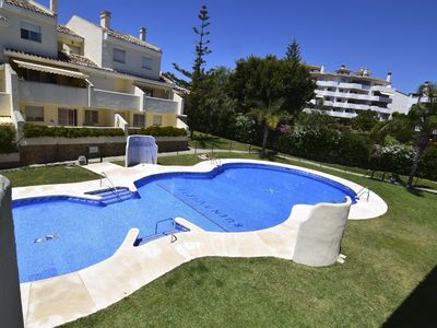 Photo for Three bedroom apartment in tourist complex with swimming pool and parking