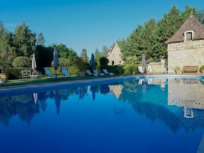 Photo for BLACK PERIGORD CLOSE SARLAT CHARMING GITE IN PARK WITH SWIMMING POOL