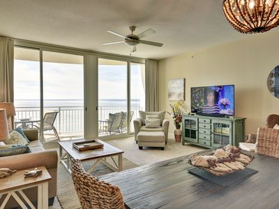 Photo for 905 Aqua 2br/2ba bunk Beachfront Getaway Free Beach Chair Service Mar 1st  to Oct 31st 2019!