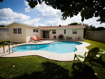 Photo for Spacious 3/2 Private Home with Pool located 1 block from Dreher Park