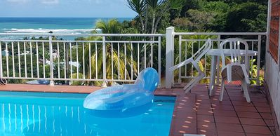 Photo for Villa 8 people with swimming pool 300 meters from the beach