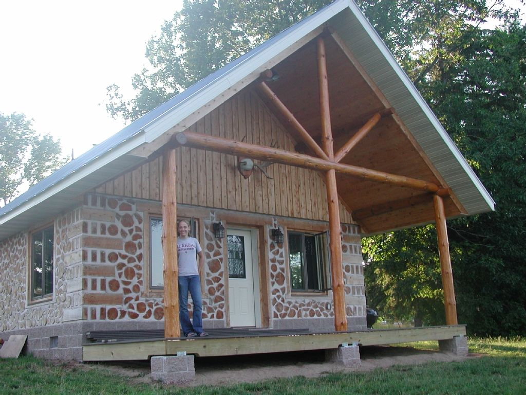 how to build a cordwood cabin