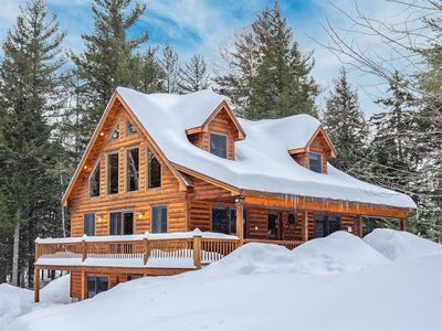 Photo for Beautiful Chalet Style Home - Minutes to Sunday River with Hot Tub and Fireplace
