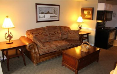 Photo for Comfy Mountain Retreat In the Main Resort lodge #1