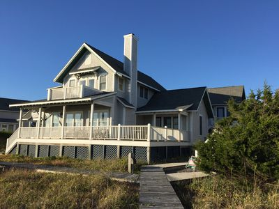 Photo for Beachfront Home With Panoramic Views Of Atlantic Ocean