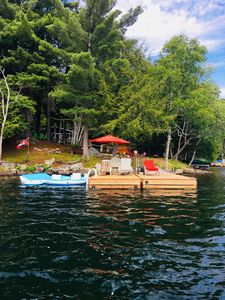 Photo for THREE MILE LAKE WATERFRONT COTTAGE-SNOW SHOE INN