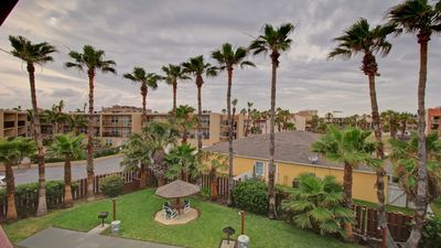 From the top of the Palm Trees By Rent On Padre