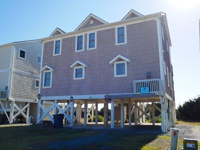 Photo for Lovely Ocean Front Home with 4 bedrooms, 3 1/2 baths and two Ocean Front Decks offering spectacular views of the Atlantic!