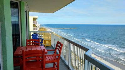 Photo for GORGEOUS, MODERN, UPSCALE Oceanfront Condo With Incredible Views
