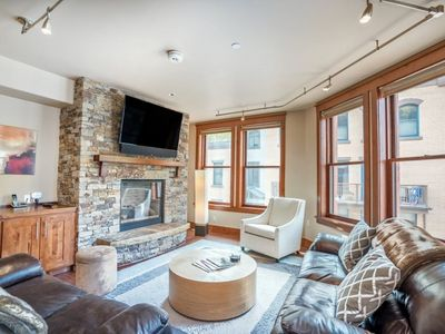 Photo for Warm & Sophisticated with Plush Furnishings Located in the Heart of Telluride & Steps to Main Street