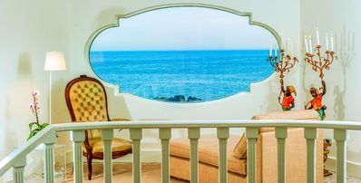 Photo for luxury 7-Bedroom property perched on the coast of Sicily. Great rates available !!