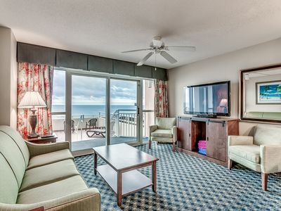 Photo for 708 OCEANFRONT CONDO DUNES VILLAGE- FRESH PAINT, MAY RATE SPECIAL MESSAGE NOW