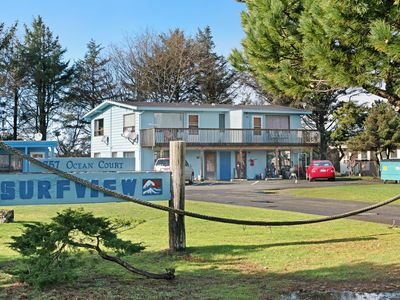 Photo for Remodeled, top-floor studio near town - walk to the beach, 2 dogs welcome!