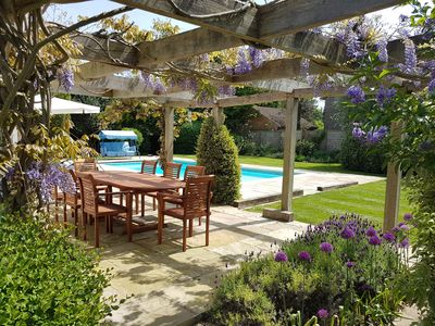 Photo for Stylish, Spacious, Well Equipped Family House with Private Heated Swimming Pool