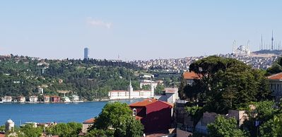 Photo for Apartment with sea and garden view in Bosphorus