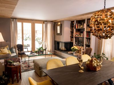 Photo for CHIC New Designer Apartment Ideal Central SAANEN/GSTAAD location