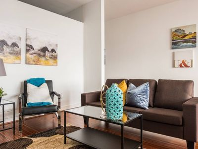 Photo for Stay Above It All @ Views + Balcony + Shopping 1BR