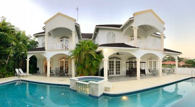 Photo for Beautiful spacious holiday home with private pool near Sandy Lane