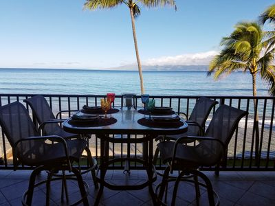 Photo for DIRECT OCEANFRONT  3 Bbrm 3 Bath June  8-13  LAST MINUTE SPECIAL $330 nt