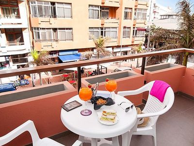 Photo for Apartment Apartment with Terrace by the beach in Las Palmas - 2 persons, 1 bedrooms