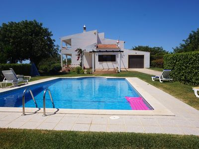 Photo for Hilltop Villa with Private Large Pool&BBQ,Wi-Fi & stunning view-Perfect to relax