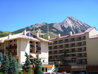 Photo for Ski in/ski out Crested Butte Condo-walk to lifts, shops & restaurants-Hot tub