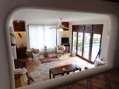 Photo for Spacious &  Stunning 4db  Villa  w/pool steps to the beach