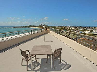 Photo for Absolute beachfront 4 bedroom apartment
