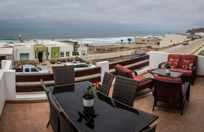 Ocean view from the main patio