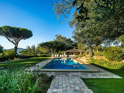 Photo for BEAUTIFUL PROVENÇAL BASTIDE WITH SWIMMING POOL AT THREE KMS FROM THE PORT OF SAINT-TROPEZ
