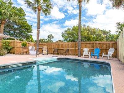 Photo for Marshview 5 Bedroom Home with Pool, Dock Access, WIFI, Pet Friendly and More!