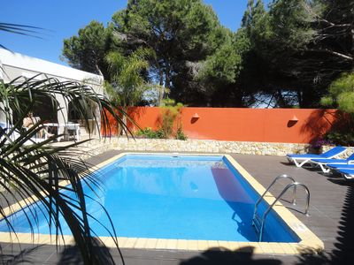 Photo for Modern house with swimming pool, complete kitchen, 3 bedrooms, 2 bathrooms free Wifi