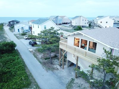 Photo for S. Nags Head-Semi-oceanfront w/ Direct Beach Access, Walk to Fish Heads & Pier